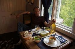 Dinner in Captain's Room
