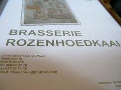 Brasserie taverne Rozenhoedkaai