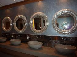 Super stylish female toilets!