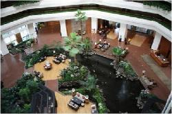 lobby in day time