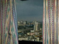 View of Indra Regent from my 34/F room