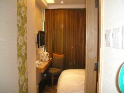 tiny room- dont expect a huge one in Hong kong