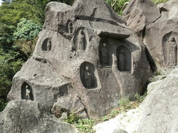 Buddhist Stoneworks at Motohakone