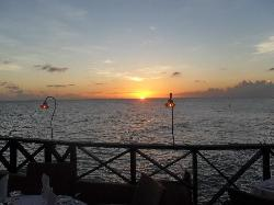 Sunset at Champers