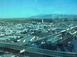 veduta di Las Vegas dalla camera da letto