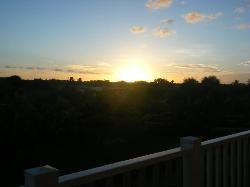 sunset on first night