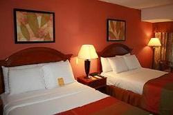 Holiday Inn room- Skokie, Il