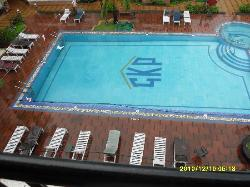 Main pool from our balcony.