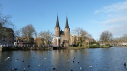 Delft - the tower gates (29012704)
