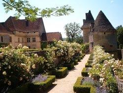 Chateau et jardins de Losse