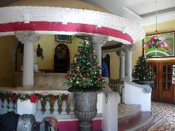 Hotel colonial lobby