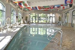 Amenities include indoor pool and fitness centre