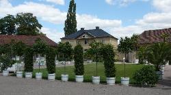 An der Orangerie im Park
