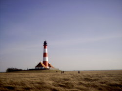 ‪Westerheversand Lighthouse‬