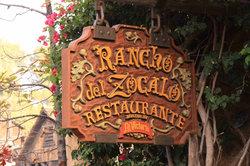 Rancho del Zocalo -  Disneyland