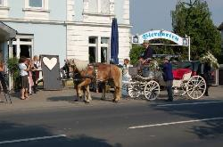 Hochzeit im Gernsheimer Schiff Braut&Kutsche