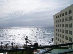 kite surfing hotel balcony view