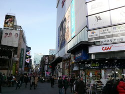 Shopping à Myeongdong