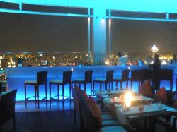 View from the level 54 bar