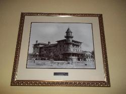 Historic photo of Jekyll Island Club Hotel in our guestroom