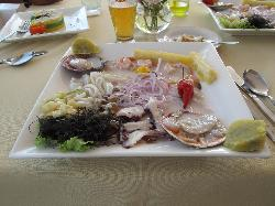My ceviche lunch
