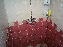 L'état de la douche (en bas à droite)