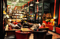 Battery Park Book Exchange and Champagne Bar