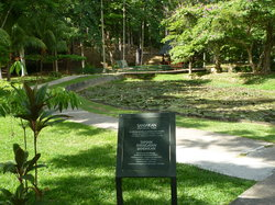 Parken till minne av fånglägret i Sandakan