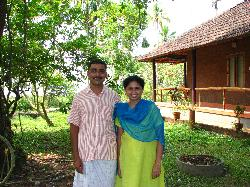 Our hosts, Thomas and Reshmi