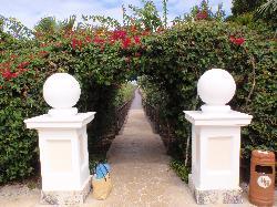Walkway to Megano Beach