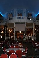 Stage Area Inside Hotel Atrium Lobby