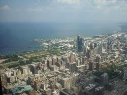 View of Chicago from the Ledge