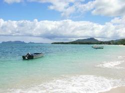 Paradise Beach looking East