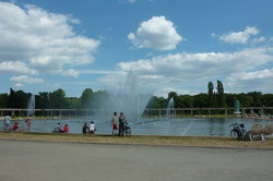 Multimedia Fountain at Pergola