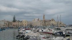 la Cattedrale di Trani vista dal porto