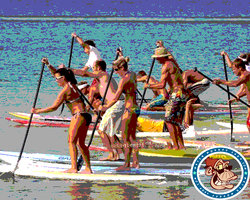 Water Monkey Stand Up Paddle Boarding