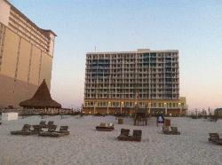 Resort from the gulf side
