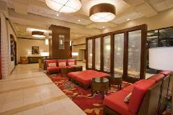 Hotel Lobby at Marriott St. Louis West