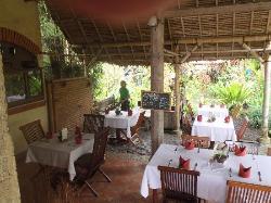 Tegal Sari restaurant ajoining reception