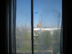 window crustyness