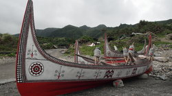 Traditional boats of the Yami people