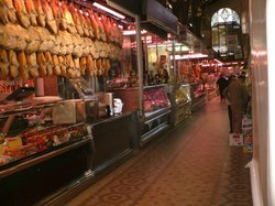 バレンシア 中央市場