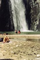 waterfall in Jarabacoa