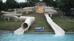 Blue Jaz, Water slides, Samal Island