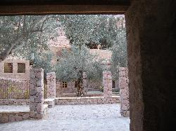 Guest House access to Monastery