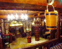 Main hall of a restaurant