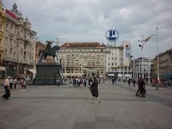 Trg bana Jelačića, Zagreb - main square