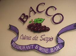 Bacco - Osteria da Sergio