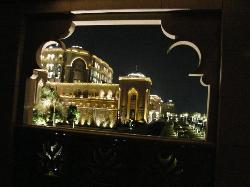 Balkonblick nachts