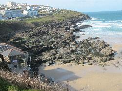 Beach View from walk